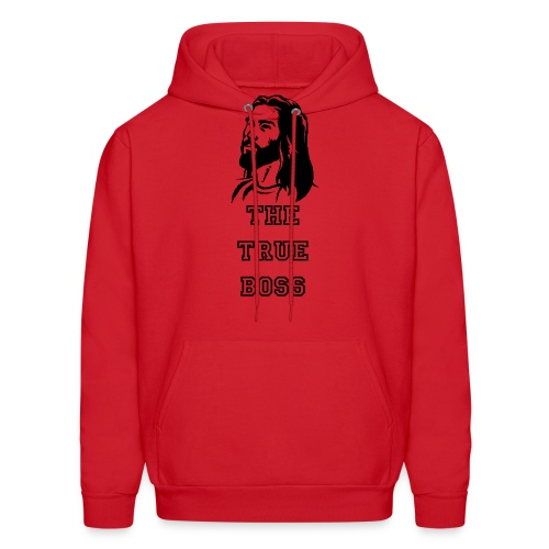 The real boss - Men's Hoodie