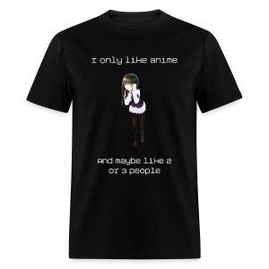 I Only Like Anime Shirt (Mens) - Men's T-Shirt