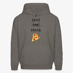 I Love Pizza - Men's Hoodie