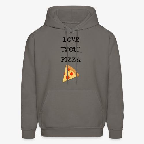 I Love Pizza - Men's Hoodie