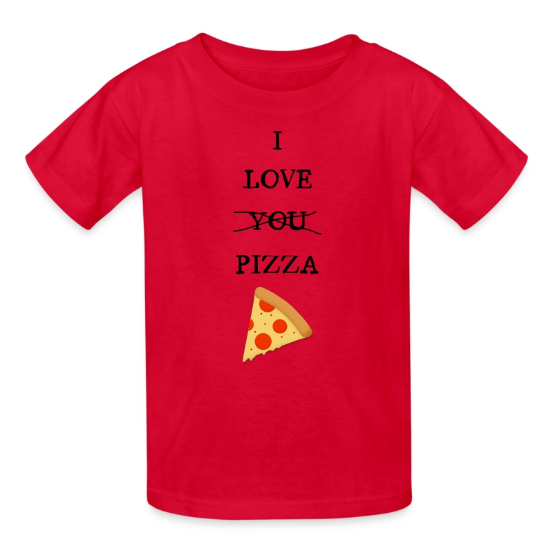 I Love Pizza - Kids' T-Shirt