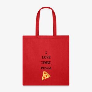 I Love Pizza - Tote Bag