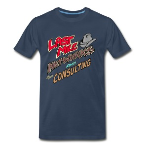 Last Mile Networks and Consulting - Men's Premium T-Shirt