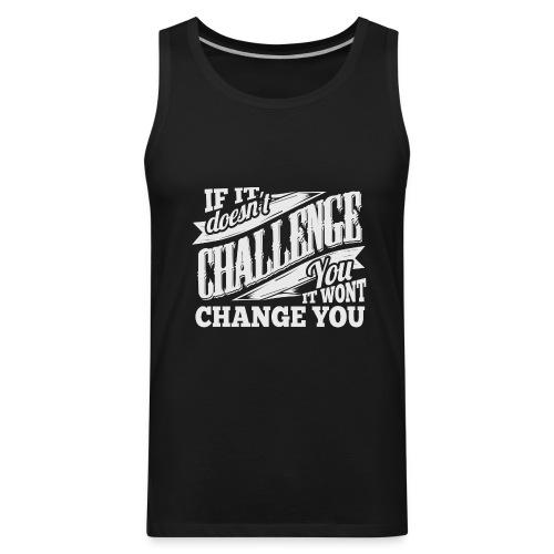 Challenge Workout Tank Top - Men's Premium Tank