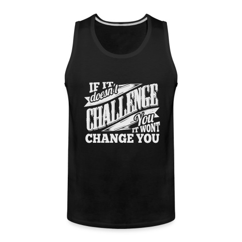 Challenge Workout Tank Top - Men's Premium Tank
