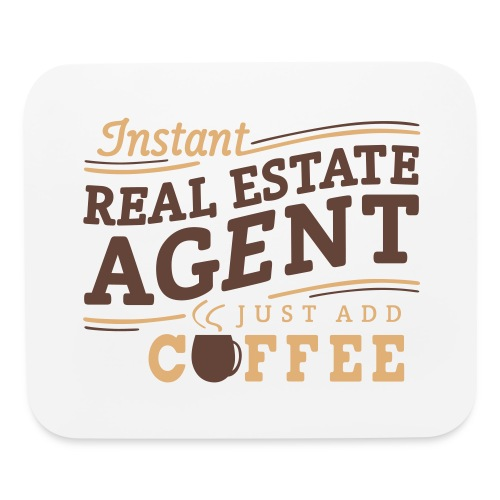 Instant Agent - Just Add Coffee mousepad - Mouse pad Horizontal