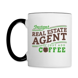 Instant Agent - Just Add Coffee contrast right - Contrast Coffee Mug