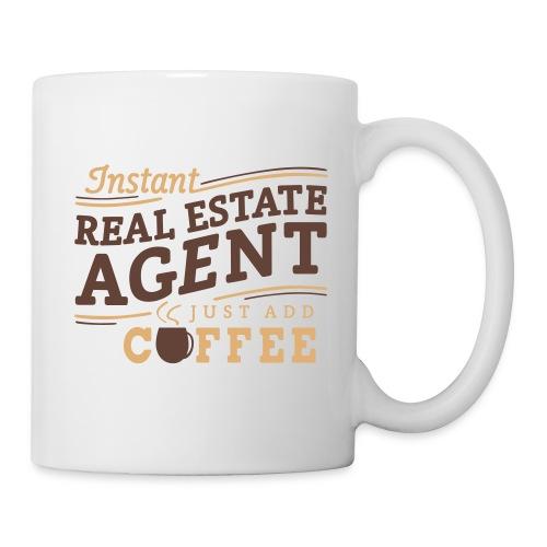 Instant Agent - Just Add Coffee mug left - Coffee/Tea Mug