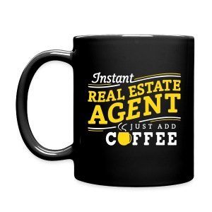 Instant Agent - Just Add Coffee mug right - Full Color Mug