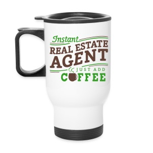 Instant Agent - Just Add Coffee travel right - Travel Mug