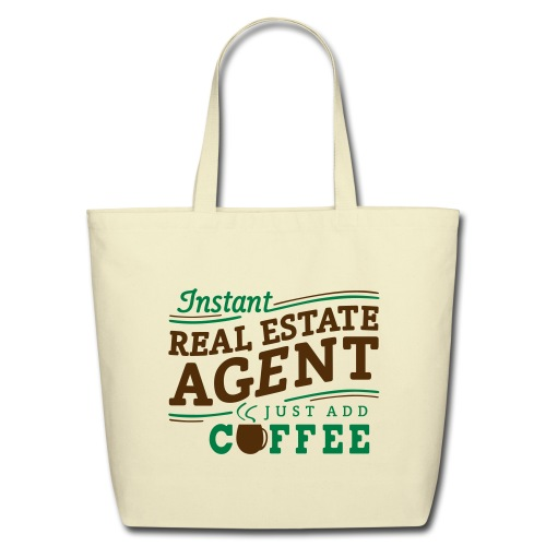 Instant Agent - Just Add Coffee cotton tote - Eco-Friendly Cotton Tote