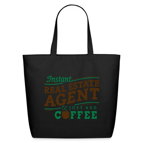 Instant Agent - Just Add Coffee cotton tote - Eco-Friendly Cotton Tote