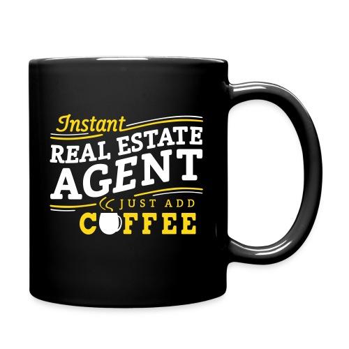 Instant Agent - Just Add Coffee mug left - Full Color Mug