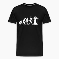 evolution_female_opera_singer_112014_b_1 T-Shirts