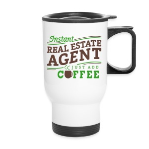 Instant Agent - Just Add Coffee travel - Travel Mug