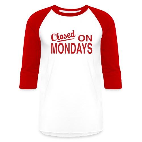 Men's C.O.M. Baseball Tee - Red Logo - Baseball T-Shirt