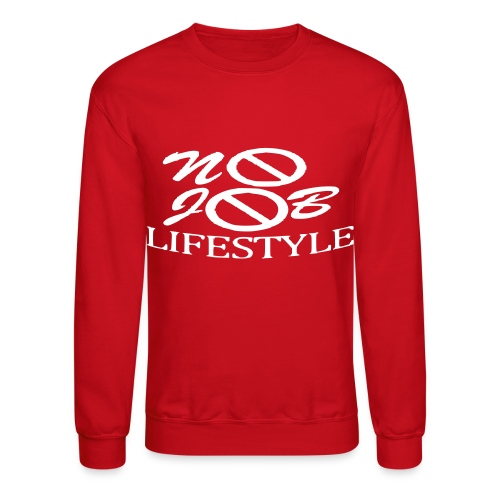Men's N.J.L. Sweatshirt - White Logo - Crewneck Sweatshirt