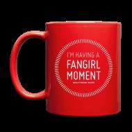 Mugs & Drinkware ~ Full Color Mug ~ Fangirl Moment Circle Mug
