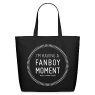 Bags & backpacks ~ Eco-Friendly Cotton Tote ~ Fanboy Moment Circle Tote Large