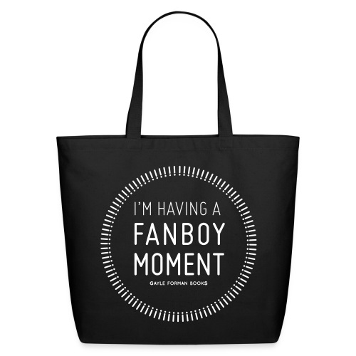Fanboy Moment Circle Tote Large - Eco-Friendly Cotton Tote