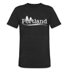 Portland - Unisex Tri-Blend T-Shirt by American Apparel