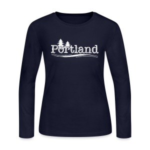 Portland - Women's Long Sleeve Jersey T-Shirt
