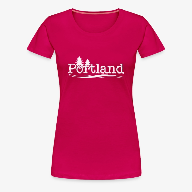 Portland - Women's Premium T-Shirt