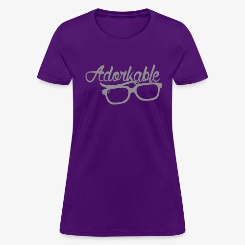 Adorkable - Women's T-Shirt