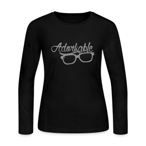 Adorkable - Women's Long Sleeve Jersey T-Shirt