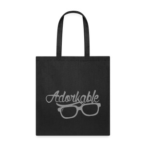 Adorkable - Tote Bag