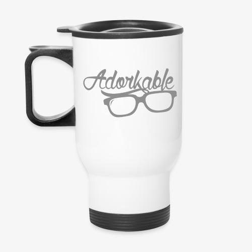 Adorkable - Travel Mug