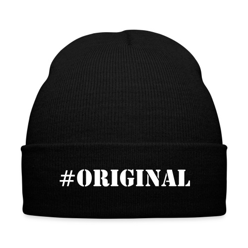 #ORIGINAL - Knit Cap with Cuff Print