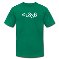 T-Shirts ~ Men's T-Shirt by American Apparel ~ Copyright 1836