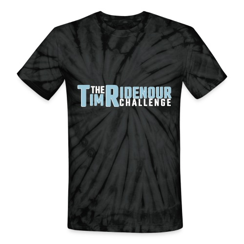 Swirl Logo - Unisex Tie Dye T-Shirt