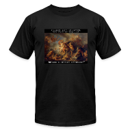 T-Shirts ~ Men's T-Shirt by American Apparel ~ The Rage of Achilles: 45SURF Hero's Odyssey Mythology