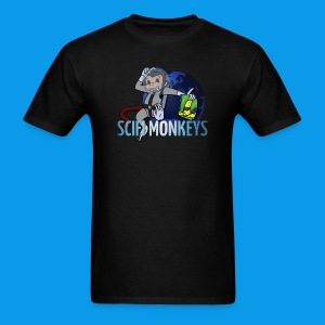 SciFi Monkeys Men's Logo Tee - Men's T-Shirt