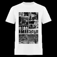 T-Shirts ~ Men's T-Shirt ~ Pro Wrestling Is Art   Joshi Collage
