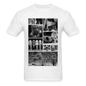 Pro Wrestling Is Art | Joshi Collage - Men's T-Shirt