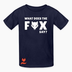 Ylvis What does the Fox say Kids' Shirts