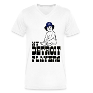 T-Shirts ~ Men's V-Neck T-Shirt by Canvas ~ My Detroit Players