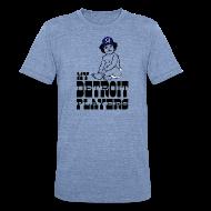 T-Shirts ~ Unisex Tri-Blend T-Shirt ~ My Detroit Players