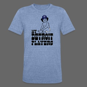 My Detroit Players - Unisex Tri-Blend T-Shirt by American Apparel