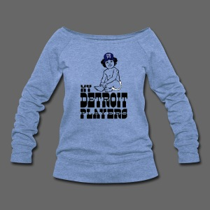 My Detroit Players - Women's Wideneck Sweatshirt