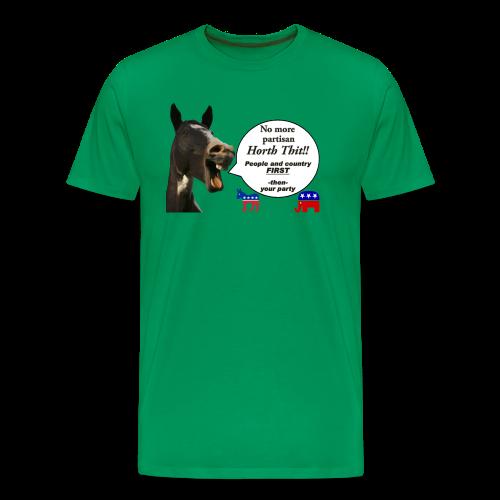 Men's Premium T-Front- Horth Thit Political! - Men's Premium T-Shirt