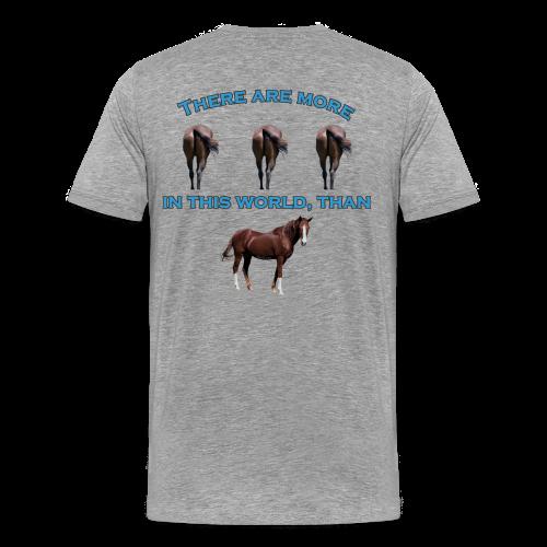 Men's Premium T- Horses A$$ - Men's Premium T-Shirt