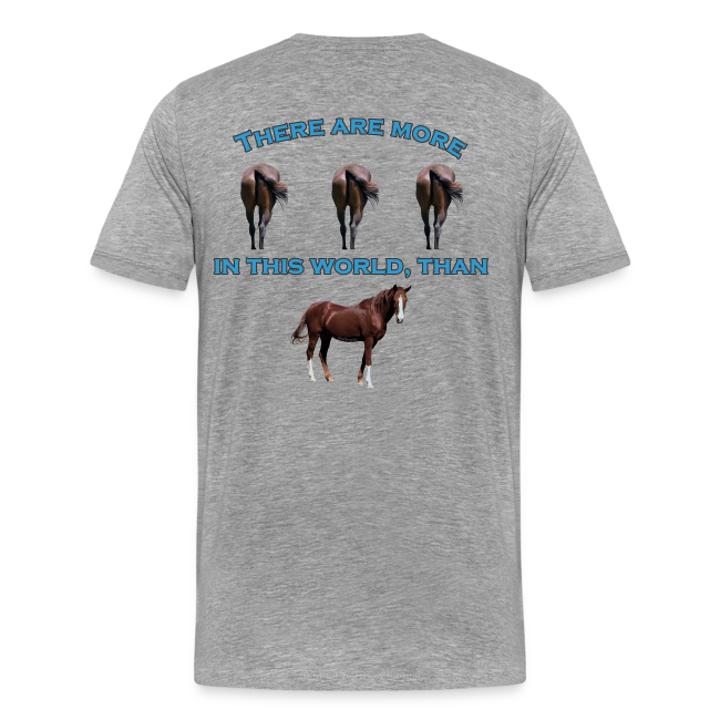 Men's Premium T- Horses A$$