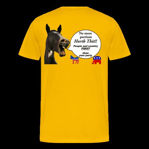 Men's Premium T- Horth Thit Political! - Men's Premium T-Shirt