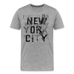 NYC paint chip by Tai's Tees - Men's Premium T-Shirt