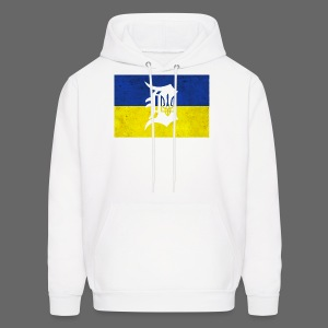 Detroit Ukraine Flag D - Men's Hoodie
