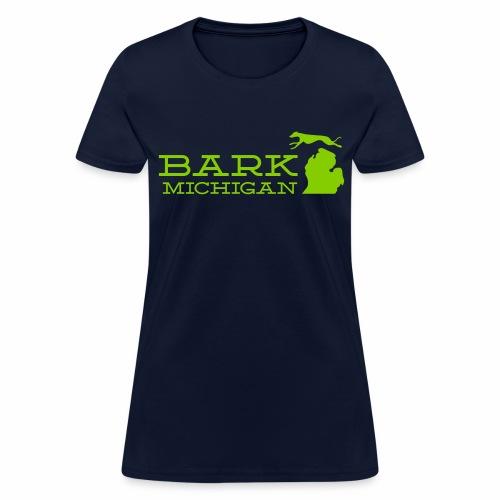 Bark Michigan logo womens tee - Women's T-Shirt